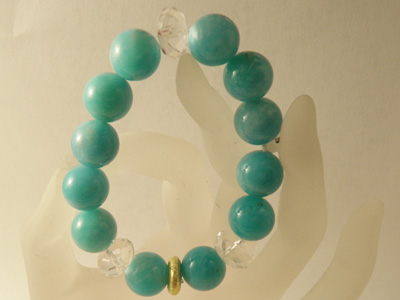 amazonite bracelet designed in Austria