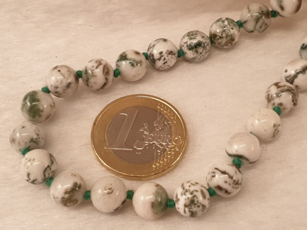 tree agate necklace 8/45