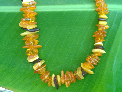 amber necklace 6-17mm