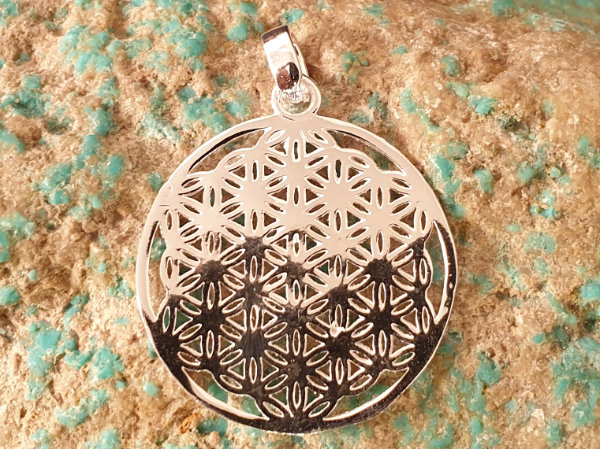 flower of life 50mm, silver