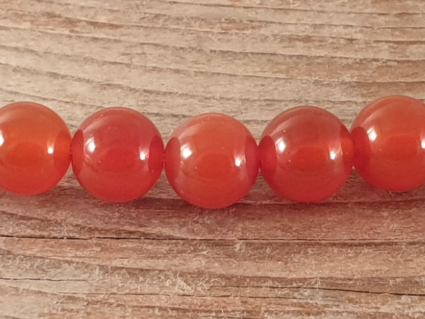 carnelian necklace 8mm