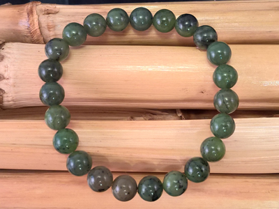 Nephrit (Jade) 8mm Armband