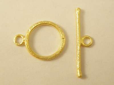 clasp 16mm silver goldplated