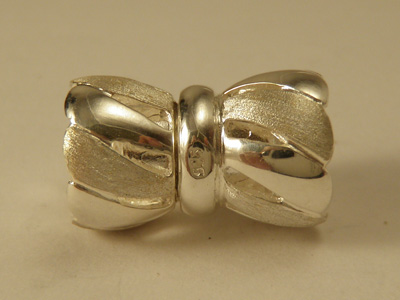 magnetic clasp 10x17mm silver