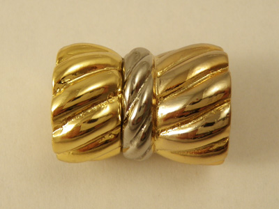 magnetic clasp 18*24mm gold plated