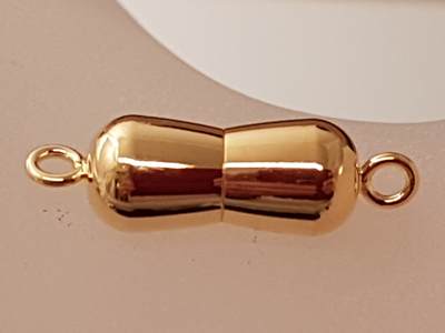 magnetic clasp 7*23mm gold plated