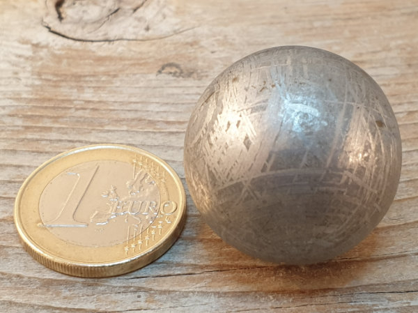 meteorite - iron 27mm sphere