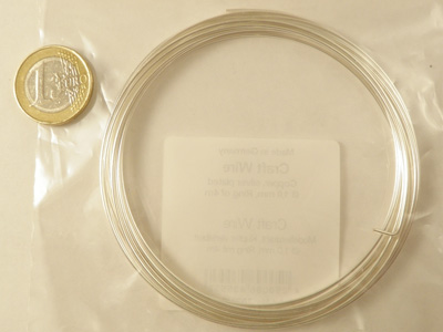 Craft Wire silverplated 1.0mm