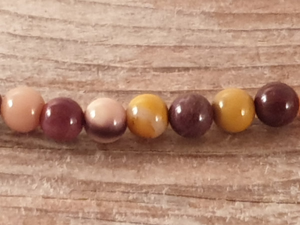 mookaite necklace 4mm
