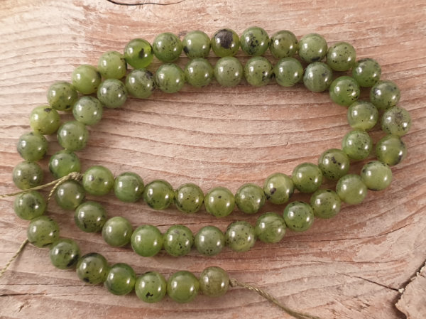 nephrite jade necklace 6mm
