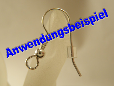 earring stopper (20 pcs), silicon