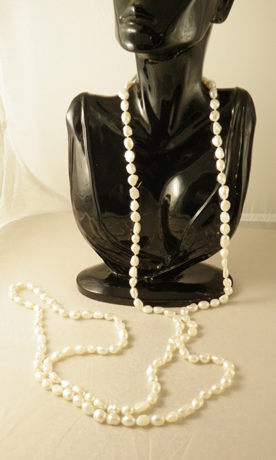 pearl necklace 160cm