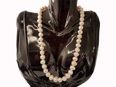pearl necklace 9.5-11/45cm