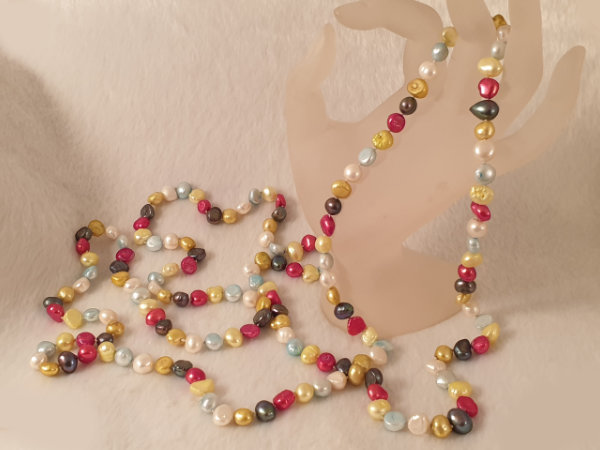 pearl necklace 150cm