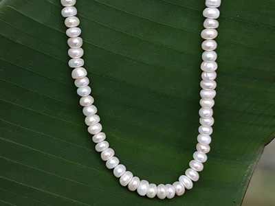 pearl necklace strand 7-8mm