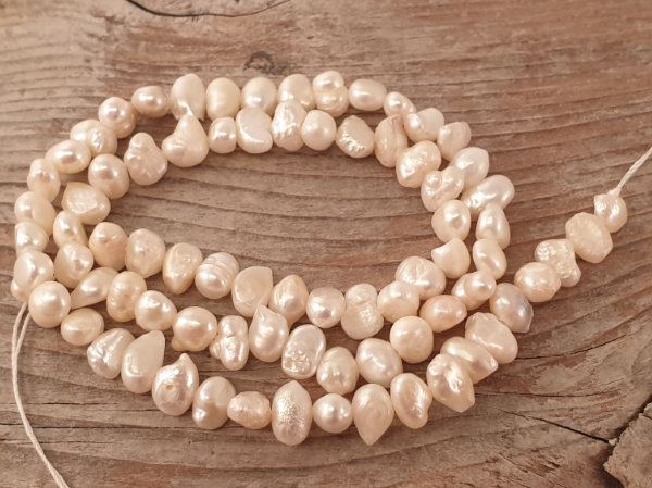 pearl necklace strand 5-6mm