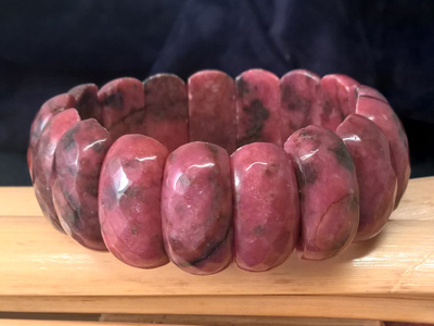 rhodonite 25mm bracelet