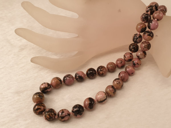 rhodonite necklace 10/45