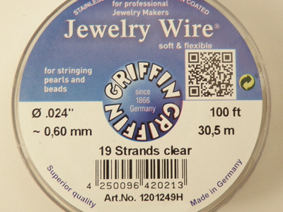 Jewelry Wire 0.60mm/30.5m/19str