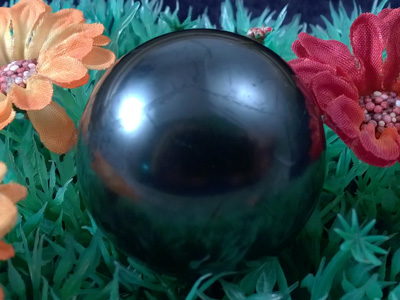 schungite sphere 38mm