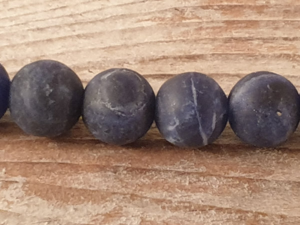 sodalite necklace mat 8mm