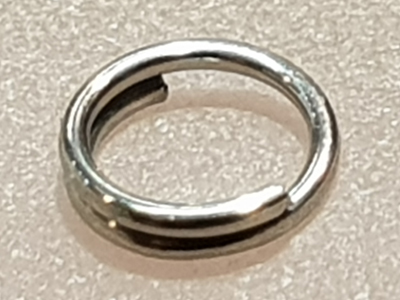 ring 5mm (10 pcs), stainless steel