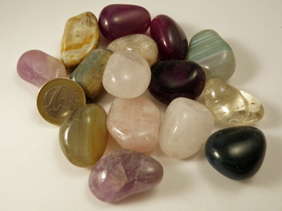 assorted tumbled stone (250gr.)