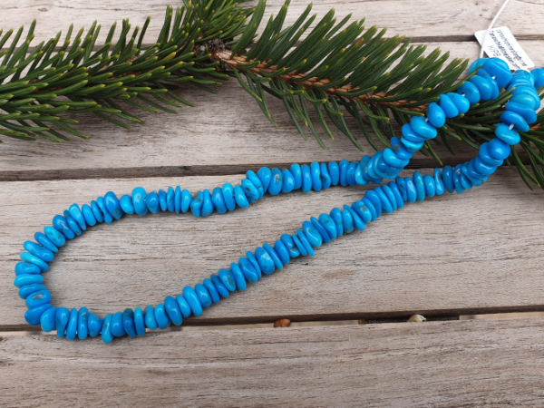 turquoise necklace 8-10mm, sleeping beauty
