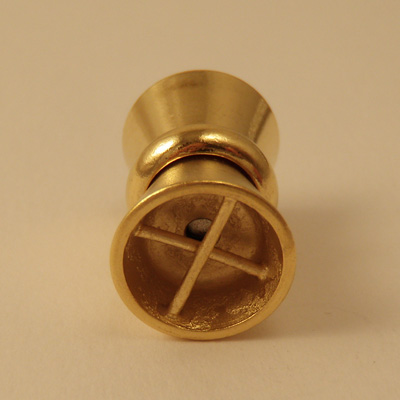magnetic clasp 11x17mm gold plated