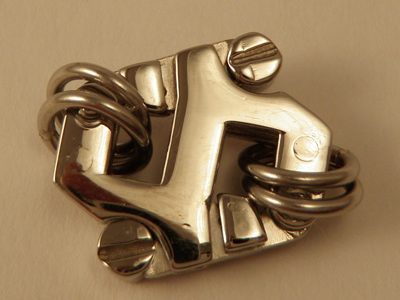 clasp 15x15mm stainless steel