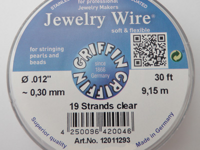 Jewelry Wire 0.30mm/9.15m/19str