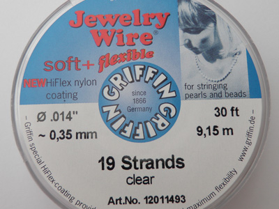 Jewelry Wire 0.35mm/9.15m/19str