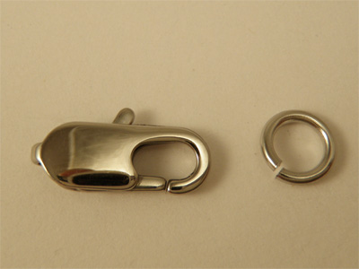 clasp 16mm slim stainless steel